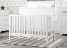 Cambridge Mix and Match 4-in-1 Convertible Crib - Rustic Bianca (170)