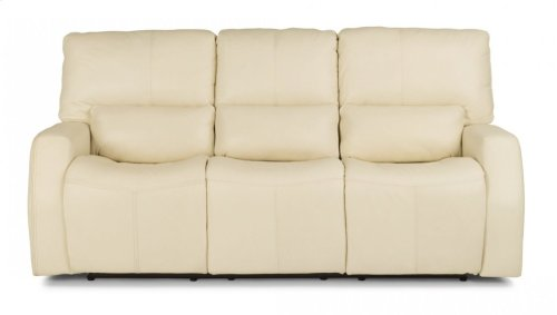 Cooper Leather Power Reclining Sofa with Power Headrests