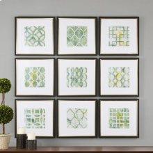 Metric Links Framed Prints, S/9