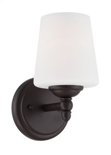 Wall Sconce in Oil Rubbed Bronze