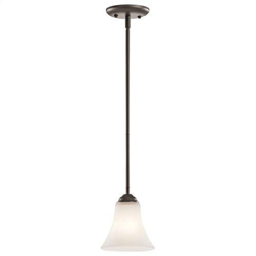 """Keiran 6"""" 1 Light Mini Pendant with LED Bulb Olde Bronze®"""