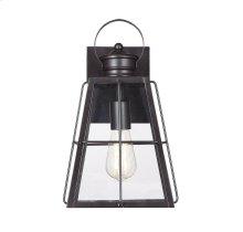 "Quincy 1 Light 14"" Exterior Wall Lantern"