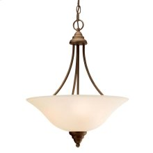 Telford Collection Telford 3 Light Inverted Pendant OZ