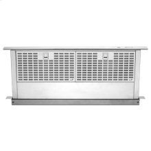 "Euro-Style Stainless 30"" Telescoping Downdraft Ventilation"