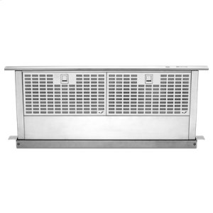 "Jenn-AirEuro-Style Stainless 30"" Telescoping Downdraft Ventilation"