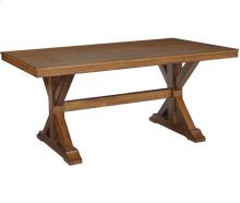 Canyon Solid Top Table Pecan