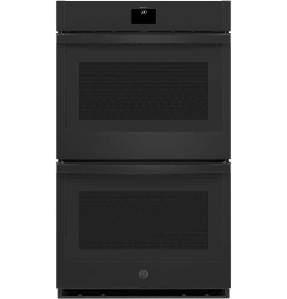 """GE(R) 30"""" Built-In Convection Double Wall Oven  BLACK"""