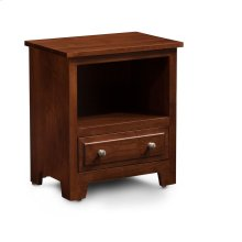 Homestead Nightstand with Opening