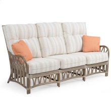 Rattan Sofa in Weather Grey 8803
