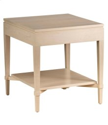 Ava Side Table w/ Shelf