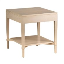 Ava Side Table w/ Shelf