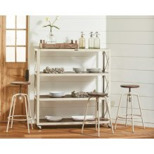 Factory Shelf and Stools