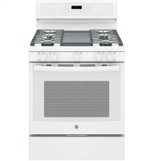 "SCRATCH & DENT- GE Profile Series 30"" Free-Standing Gas Convection Range"