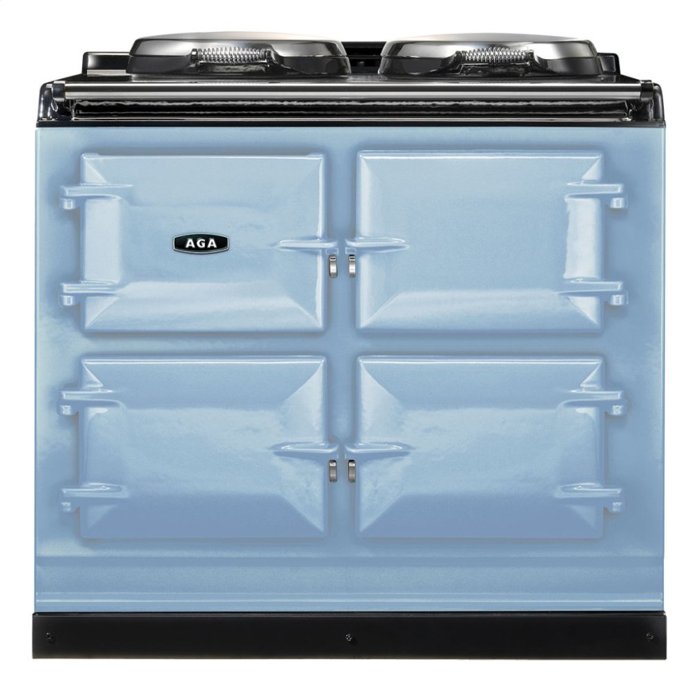 Duck Egg Blue AGA Dual Control 3-Oven Natural Gas