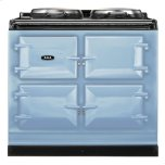 Duck Egg Blue  Dual Control 3-Oven Natural Gas