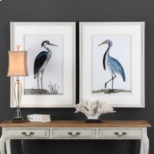 Shore Birds Framed Prints, S/2
