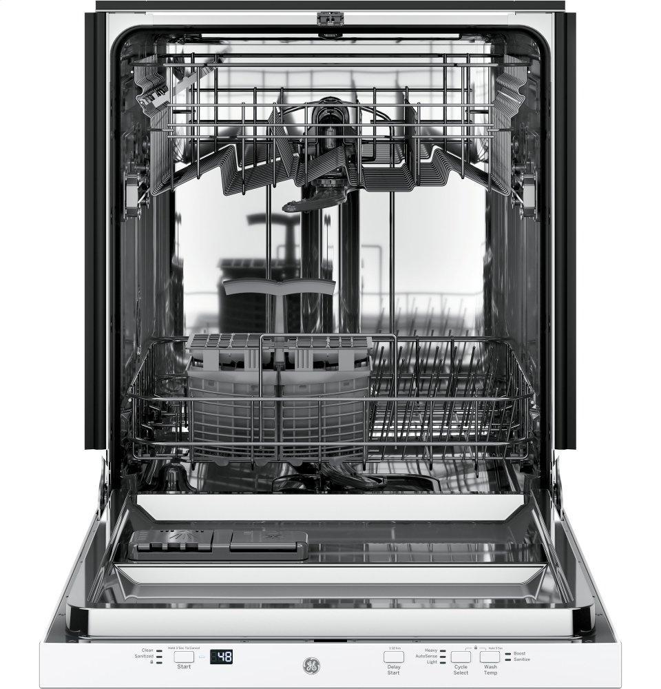 Gdt225sglww Ge 174 Built In Dishwasher White Fred S Appliance