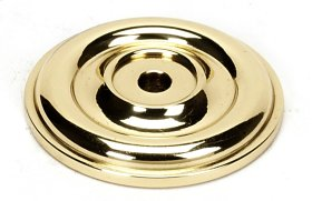 Bella Rosette A1453 - Polished Brass