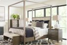 Upholstered Poster Bed, Queen 5/0 Product Image
