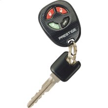 Anti-code grabbing technology 4 button remote security system with 2 stage shock and starter disable