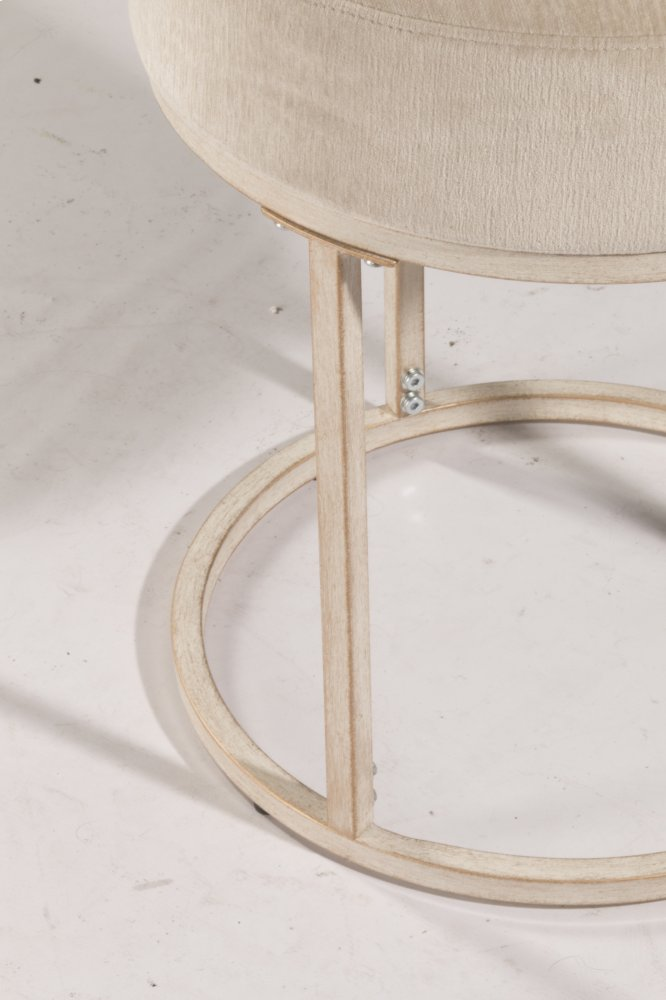 swivel vanity stool white swanson nonswivel vanity stool white 51024 in by hillsdale furniture lincolnton nc non