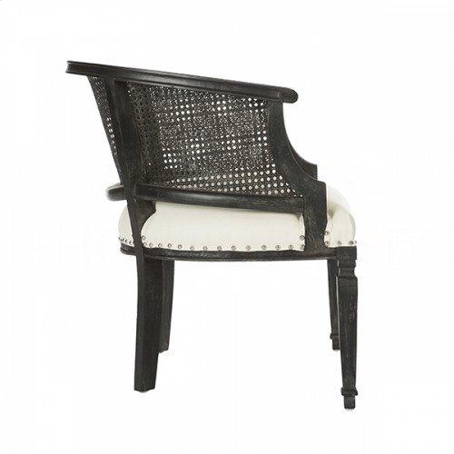 Mary Katherine Black Cane Back Chair