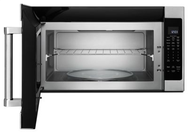 Hidden Additional 1000 Watt Microwave With 7 Sensor Functions 30 Stainless Steel
