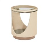 Overture End Table Cristal