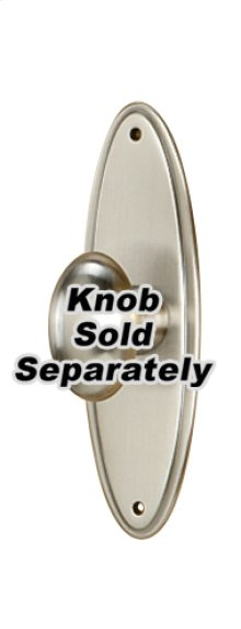 Escutcheon A1225-3 - Satin Nickel