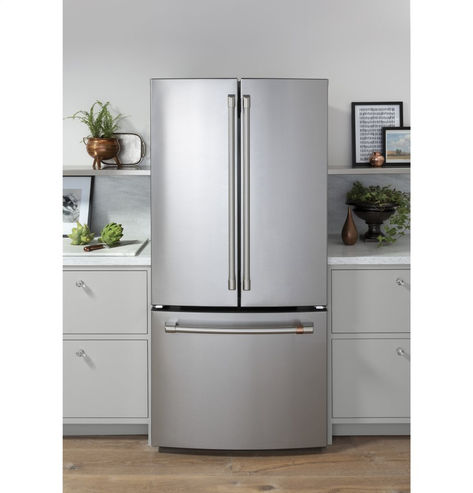 French Kitchen Appliances: CWE19SP2NS1 Cafe Appliances ENERGY STAR ® 18.6 Cu. Ft