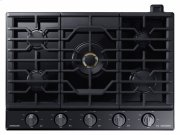 "30"" Gas Chef Collection Cooktop with 22K BTU Dual Power Burner Product Image"