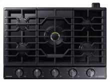 "30"" Gas Chef Collection Cooktop with 22K BTU Dual Power Burner"