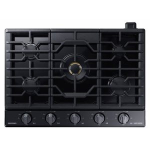 "Samsung30"" Gas Chef Collection Cooktop with 22K BTU Dual Power Burner (2017)"