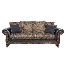7685 Silas Ebony Sofa Only