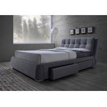Fenbrook Transitional Grey California King Bed