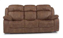 Como Fabric Reclining Sofa