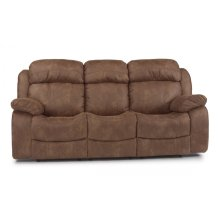 Como Fabric Reclining Sofa