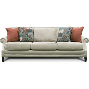 England Furniture Palmer Sofa With Nails 7l05n