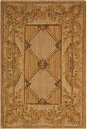 VALLENCIERRE VA21 GOLD RECTANGLE RUG 3'6'' x 5'6''
