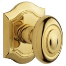 Lifetime Polished Brass 5077 Bethpage Knob Product Image