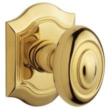 Lifetime Polished Brass 5077 Bethpage Knob