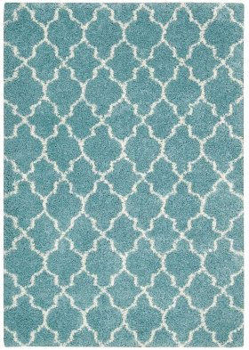 """AMORE AMOR2 AQUA RECTANGLE RUG Available in Sizes:  3'.9""""X 5'.9"""",  5'.3""""X 7'.5"""",  7'.8""""X 10'.3"""""""
