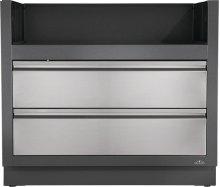 OASIS Under Grill Cabinet for Built-in Prestige PRO 665 , Grey