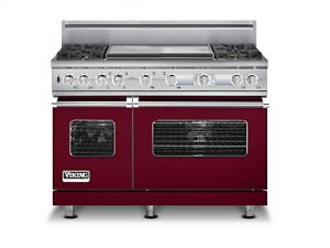 "48"" Custom Sealed Burner Dual Fuel Electronic Control Range, Natural Gas"