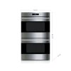 """Wolf 30"""" E Series Transitional Built-In Double Oven"""