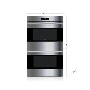"Wolf30"" E Series Transitional Built-In Double Oven"
