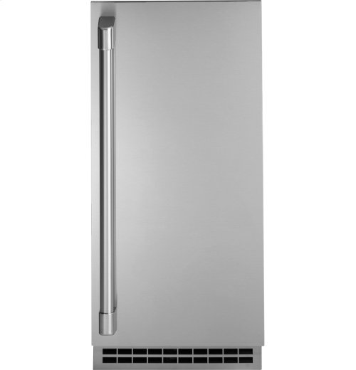 GE Cafe Series Stainless Steel Ice Maker Door Kit (door panel and handle only)