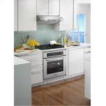 KitchenAid® 30-Inch 4-Burner Gas Cooktop, Architect® Series II - Black