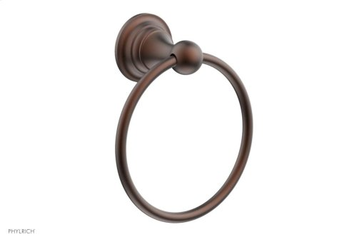 COURONNE MAISON Towel Ring 163-75 - Weathered Copper