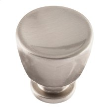 Conga Knob 1 1/8 inch - Brushed Nickel